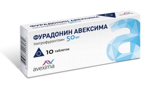 Синтетические антимикробные таблетки Фурадонин, разрешенные при ГВ, останавливают развитие бактерий и уничтожают их