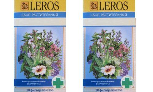 Урологический сбор Лерос нужно принимать 3-5 раз в день по 1 стакану. Форма выпуска препарата позволяет быстро приготовить напиток, просто заливая кипятком пакетик с травяным чаем