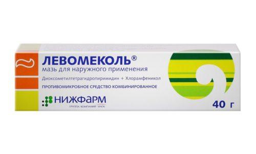 Среди отечественных комбинированных препаратов для лечения цистита хорошо себя зарекомендовала мазь Левомиколь