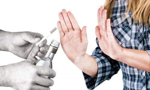 Чтобы снизить риск развития патологии необходимо отказаться от вредных привычек