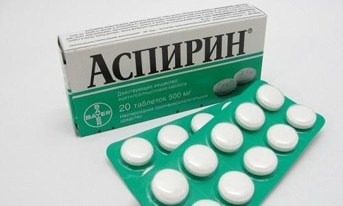 Лекарственное средство Аспирин обладает болеутоляющим действием