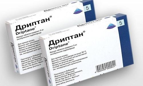 При сильной или постоянной ноющей боли в нижней части живота и пояснице назначают препарат Дриптан