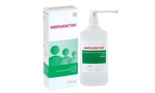 После интимной близости с сомнительным партнером рекомендуется воспользоваться Мирамистином, который обладает широким спектром антибактериальной активности
