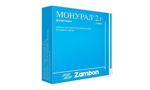Монурал назначают при острой форме цистита и его рецидиве
