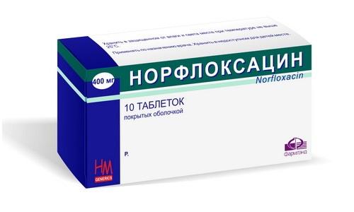 Норфлоксацин - одно из наиболее безопасных средства от воспалительных заболеваний мочевыводящей системы у мужчин