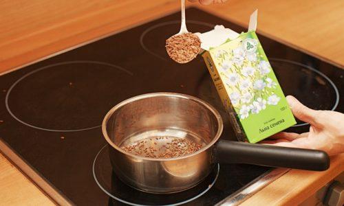 Для лечения цистита в домашних условиях используют отвар семени льна