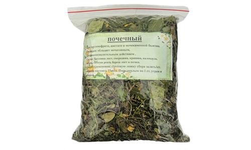 Почечный чай содержит ферментированные листья ортосифона тычиночного (в народе - кошачий ус)