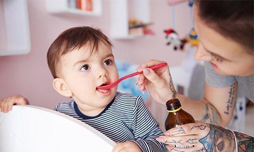 Малышу от года до 7 лет можно принимать по 15 капель Канефрона трижды в день