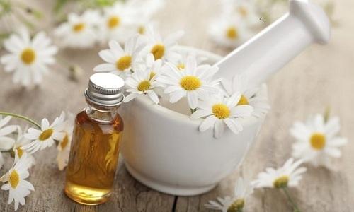 Лечение острой формы цистита можно проводить с помощью отвара цветков ромашки