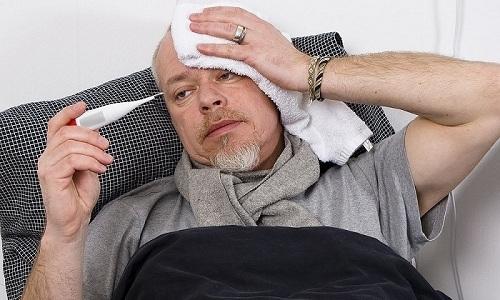 При развитии цистита у больного повышается температура тела